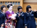 Geisha in Japan.