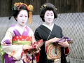 Geishas in Japan.